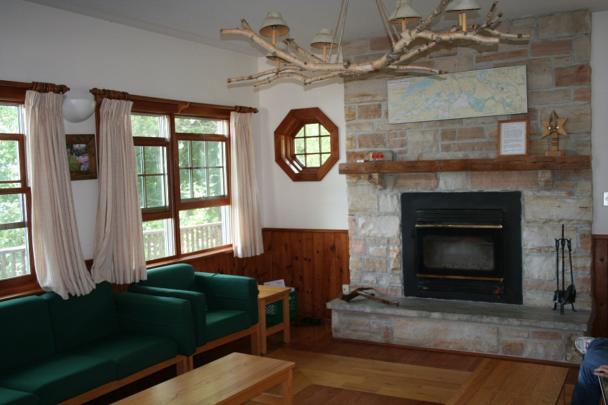 The lounge in the lodge.